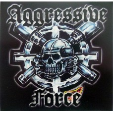 Aggressive Force - LP- BLUE Vinyl